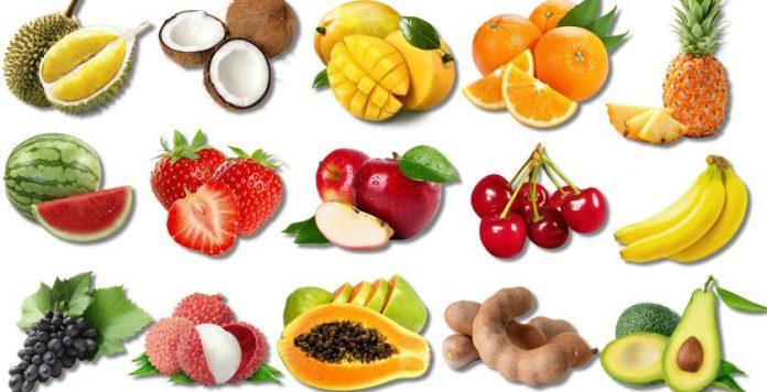 Tên các loại trái cây bằng tiếng anh