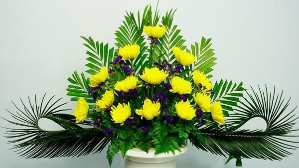 Hoa cúc vàng không nên làm hoa sinh nhật